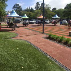Hamilton Gardens turf