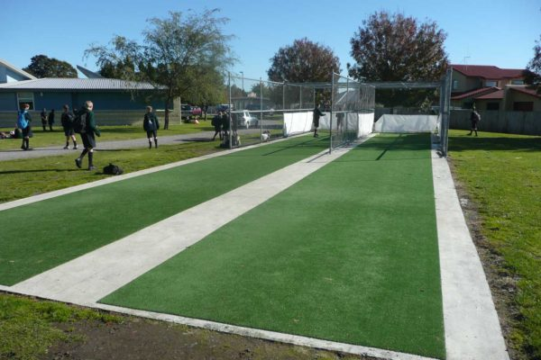 Aquinas College Cricket Nets Turf