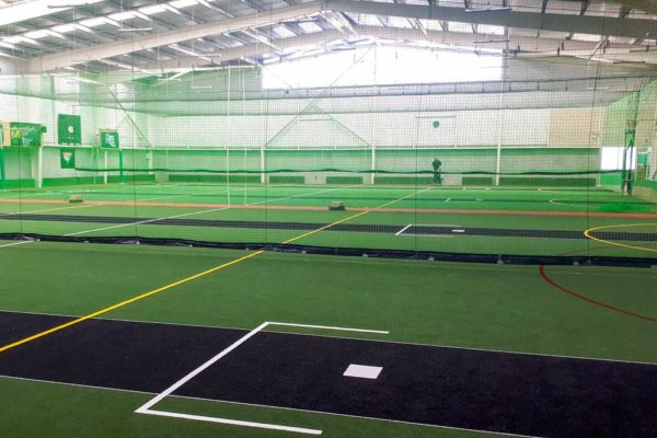 Cricket Turf Installation