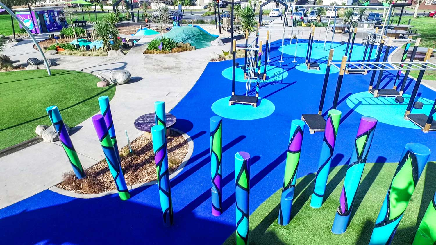 Dominion Playground Synthetic Turf