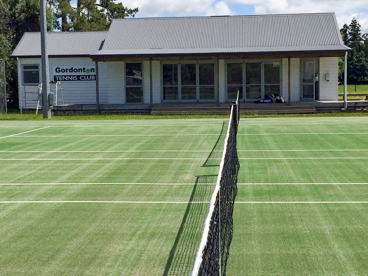 Gordonton Tennis Club artificial turf