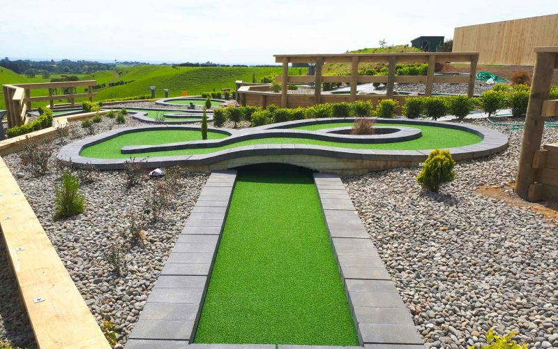 Hillsborough Mt Panorama Mini Golf Hole 3a