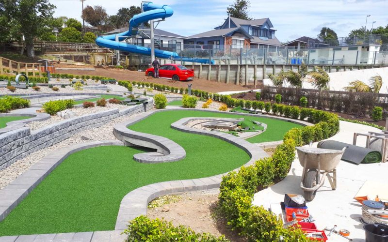 Hillsborough Mt Panorama Mini Golf Hole 8d