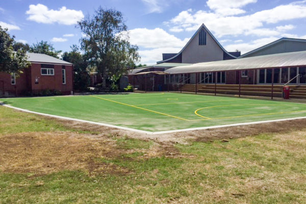 Holy Cross School Multi-Use Turf