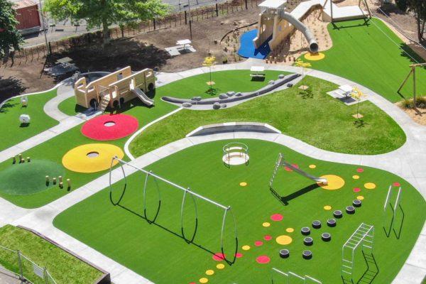 Jim Barker Playground Otorohanga