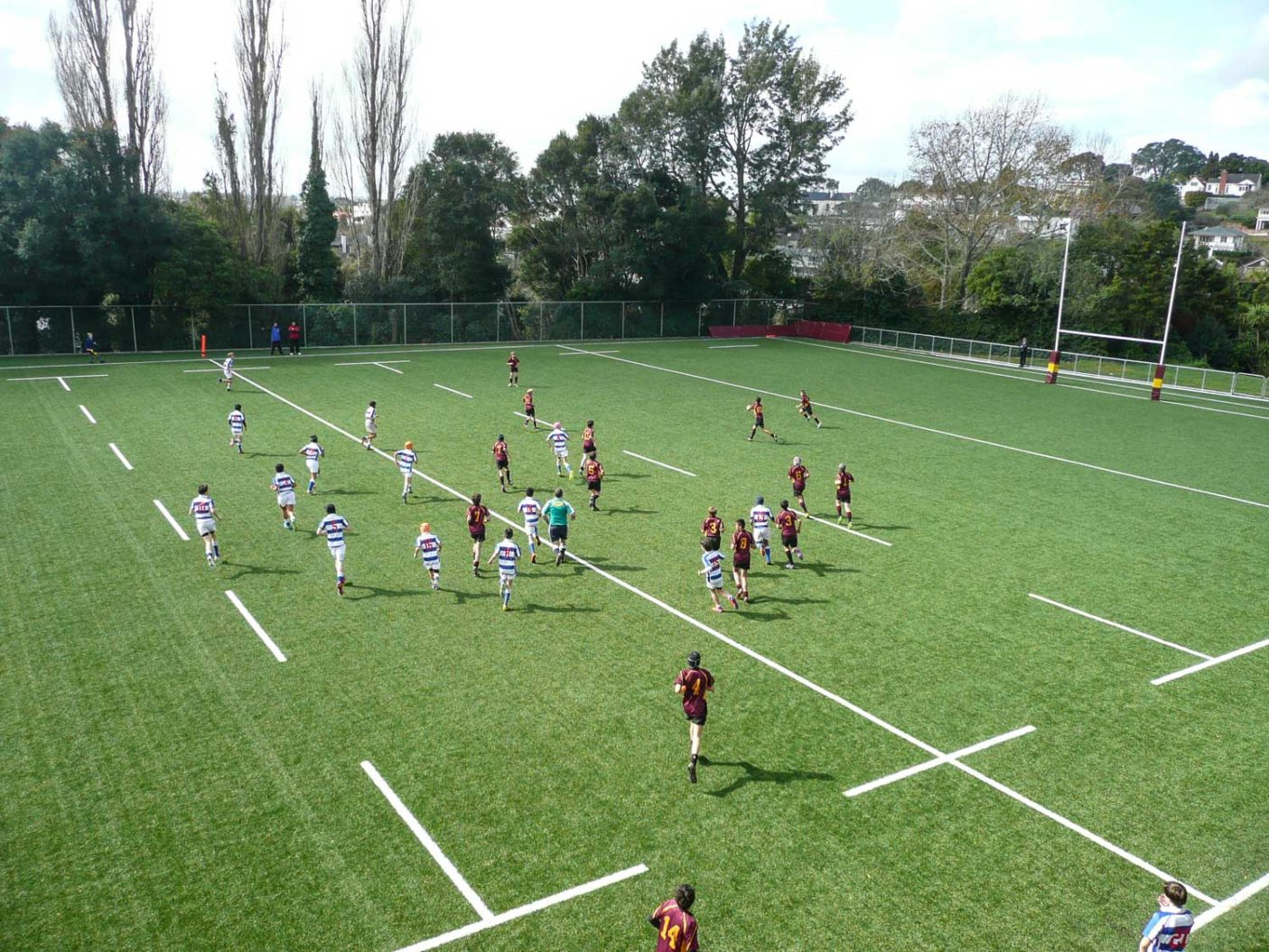 Kings School Rugby Turf Auckland