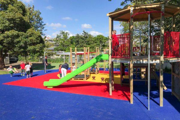 Meadowbank School Playground Turf