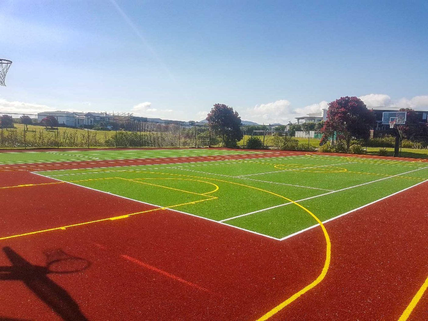 Omaha Tennis synthetic turf