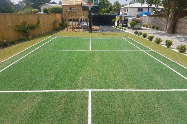 Patu Badminton Court Synthetic Turf