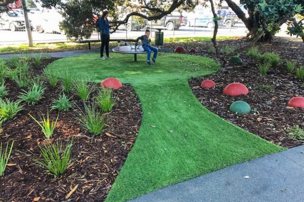 Potters Park Playground Takapuna Turf
