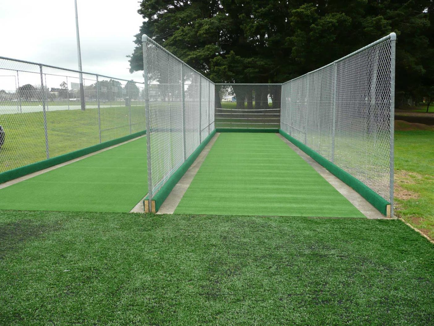Pukekohe Metro Cricket Club Cricket Nets Turf