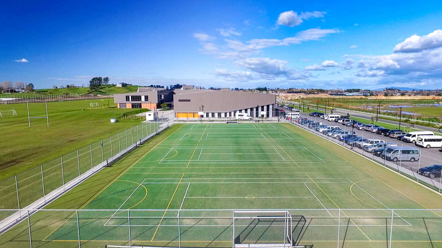 Rototuna Junior High School multi-use turf