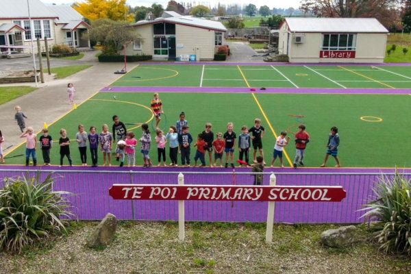 Te Poi School Multi-Use Turf