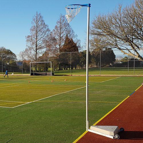 Mobile Netball Goal & Net