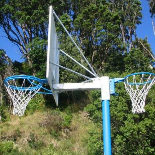 Reversible Basketball/netball Hoop