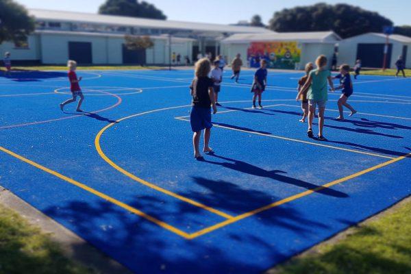 School Sports Court