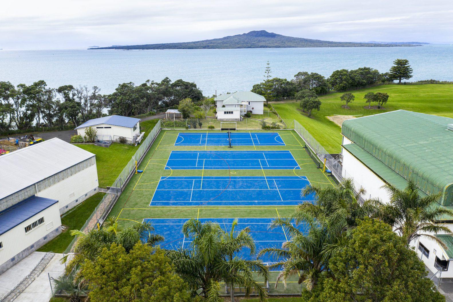 Takapuna Grammar School courts