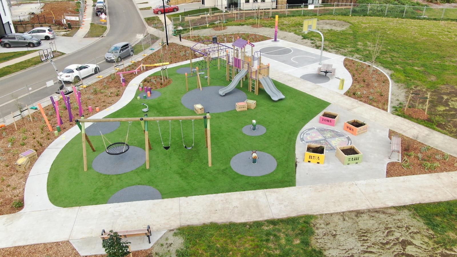 Dixon Playground turf