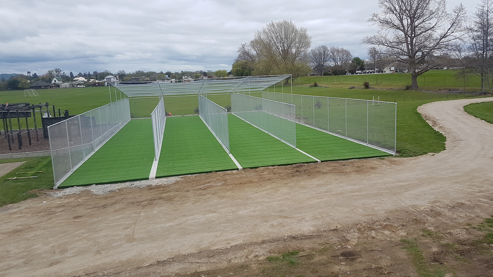 Cambridge High School cricket nets