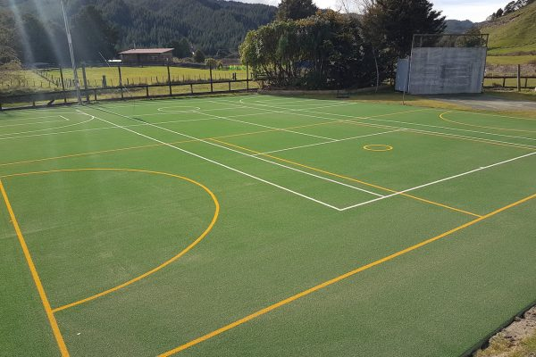 School Tennis Court