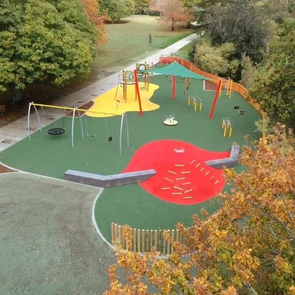 Hayes Paddock playground turf